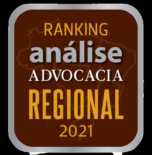 Ranking análise advocacia regional 2021